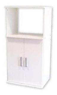 Mueble Gabinete Para Microondas 3046 Platinum Blanco