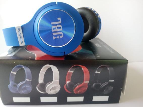 Fone De Ouvido Headphone Jbl O Mais Procurado Cor Azul