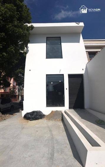Loja Para Alugar, 180 M² Por R$ 12.000/mês - Gonzaga - Santos/sp - Lo0036
