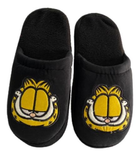 Pantuflas Abiertas Bordadas Garfield