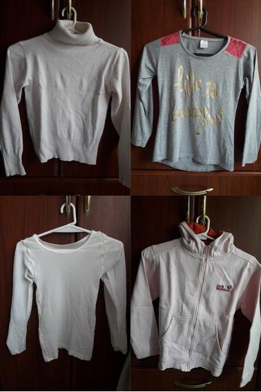Lote De Invierno ( Sweater, Remera, Camperita) Talles 10, 12