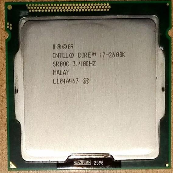 Processador Intel Lga 1155, Core I7 2600k, 3.8ghz, 8mb Cach