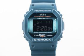 Relógio G-shock Dw 5600cc Clássico Azul Colors Novo Original