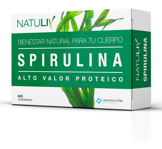 Spirulina 30 Comp Natuliv Vitamina B12 Multivitaminico