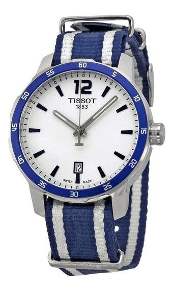 Relógio Tissot Quickster Silver Unisex Watch- Caixa Original