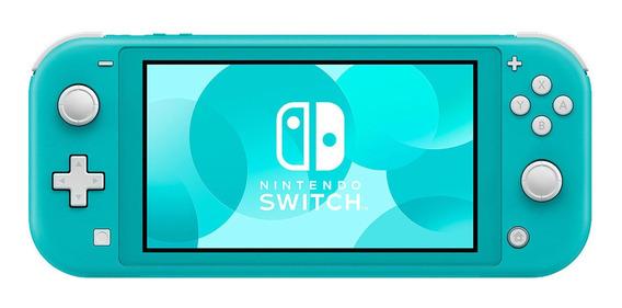 Nintendo Switch Lite Consola 32gb Turquesa Hdh-s-bazaa