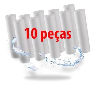 10 Filtro Refil Cartucho Liso De Polipropileno 10 X 2 1/2