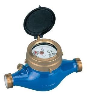 Caudalimetro Medidor De Agua Pasaje 1 1/4 Roscas 1 1/2 PuLG