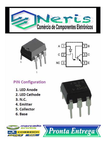 4n25 Dip-6 Optoacopladores (10 Pç.)