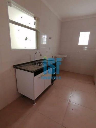 Apartamento Com 1 Dormitório Para Alugar, 43 M² Por R$ 1.300,00/mês - Bela Vista - Osasco/sp - Ap24751