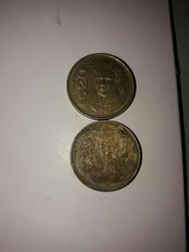 2 Monedas De 20 Pesos De 1985