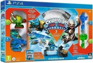 Ps4 - Skylanders Trap Team - Starter Pack Rj
