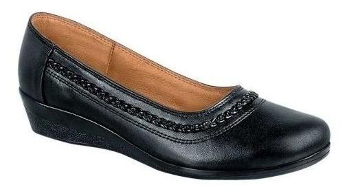 Zapato Piel Borrego C.e Cm. Cómodo Cuña Shosh Acbde8 Cn