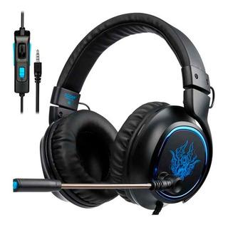 Headset Gamer Sades R5 Ps4 Xbox Pc Celular +119 Vendas