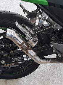 Ponteira Escapamento Megafone Kawasaki Ninja 250 Jbk Exhaust