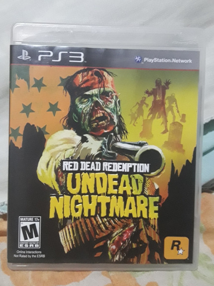 Undead Nightmare (jogo Mídia Física Ps3)