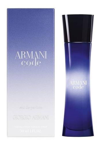 Imagen 1 de 1 de Armani Code Eau De Parfum 30ml, Mujer