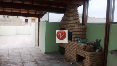 Cobertura Residencial Para Venda E Locação, Bairro Jardim, Santo André - Co0221. - Co0221