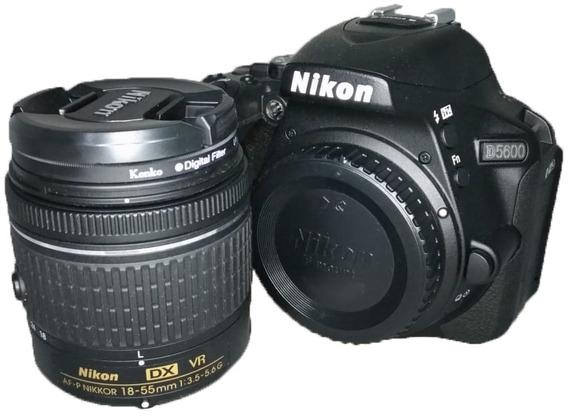 Câmera Nikon D5600 + Lente 18-55mm Usada Otimo Estado Perfei