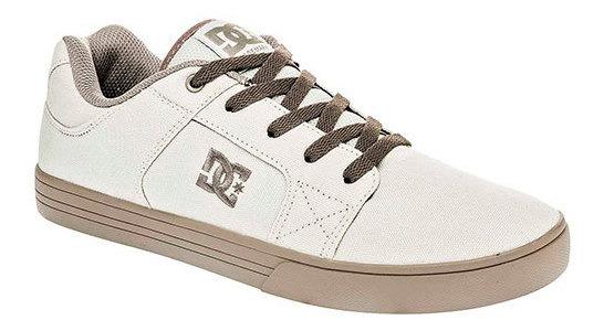 Tenis Hombre Pk 93542 Dc Shoes Beige