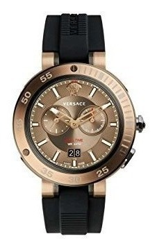 Versace V-extreme Esfera Café Reloj Para Hombre Vcn030017