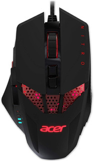 Mouse Gaming Acer Nitro 4000 Dpi Diseño Ergonómico