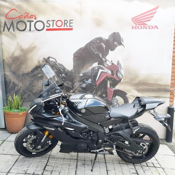 Yamaha Yzf R6 Negra 2017