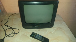 Tv Color Nokia 14 Multinorma Modelo Sat-146 Con Control