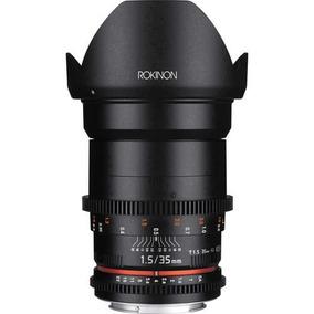 Lente Rokinon Cine 35mm T1.5 As If Umc Para Canon Ef (ds35m-