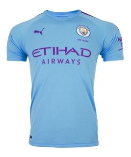 Nova Camisa Manchester City 19/20 - Oficial