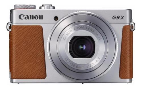 Imagem 1 de 4 de Canon PowerShot G9 X Mark II compacta cor  prateado