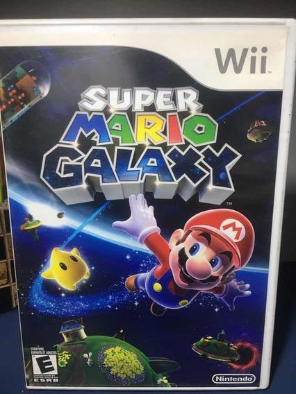 Super Mário Galaxy- Jogo Para Nintendo Wii Seminovo - Rf133