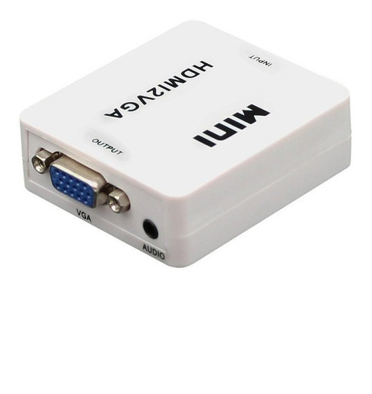 Conversor Hdmi A Vga Video C/audio Y Alimentacion Ps4 1080p