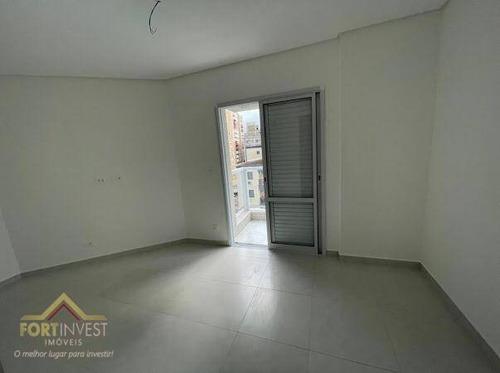 Imagem 1 de 17 de Apartamento Com 3 Dormitórios À Venda, 148 M² Por R$ 699.000,00 - Vila Guilhermina - Praia Grande/sp - Ap2591