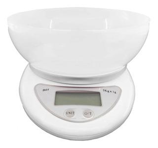 Balanza Digital De Cocina A Pilas Tara 1gr A 5kg 7kg 10kg