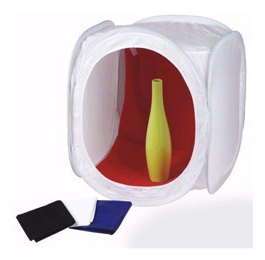 Tenda Luz Difusora Light Box Mini Estúdio Fotografico 60x60