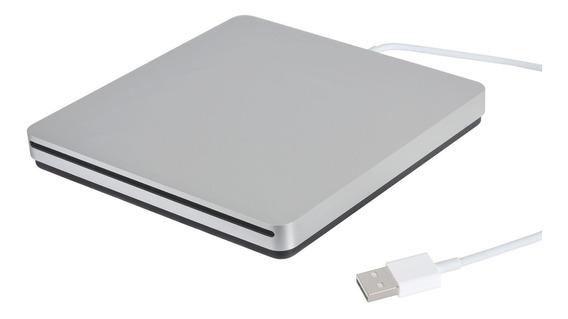Gravador Dvd Para Macbook Super Drive - Prata