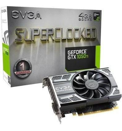 Placa De Vídeo Evga Nvidia Geforce Gtx 1050 Ti Sc Gaming 4gb