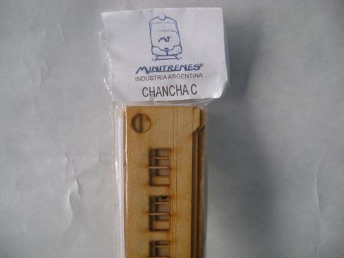 Nico Coche C/cabina Auxiliar Fiat Kit Fibrofacil H0 (mnl 03)