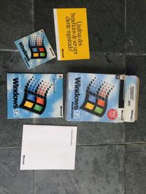 Windows 95 Original Muito Bem Conservado