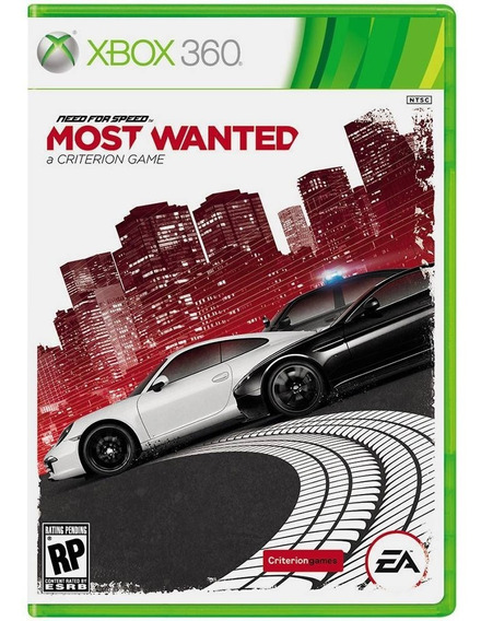 Need For Speed Most Wanted (xbox 360) Lacrado / Mídia Física