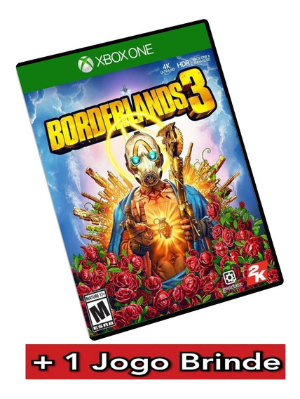 Borderlands 3 Xbox One Mídia Digital + Brinde