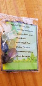 Kit 7 Pedras Da Sorte Cristais Esotéricos 100% Natural