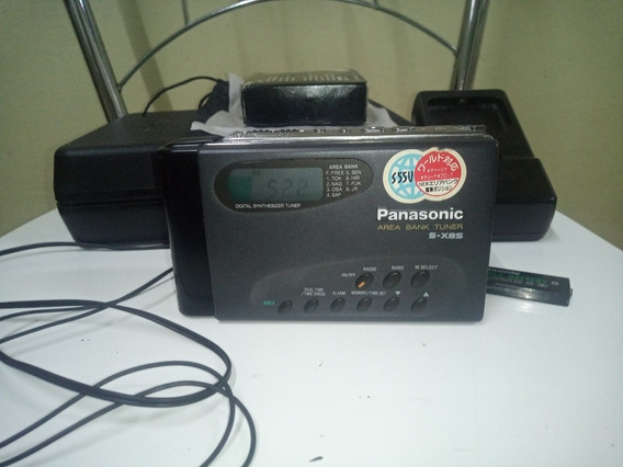 Walkman Panasonic Rqs55 V Trazido Do Japao
