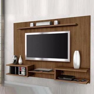 Panel Mueble Rack Led Modular Mesa Tv