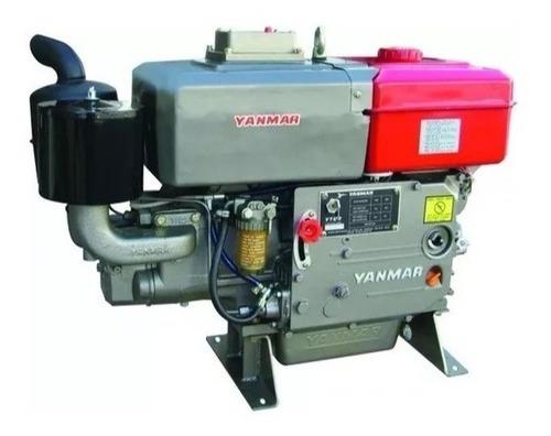 Motor Diesel Estacionario Yanmar 18cv Cv Refrigerado A Água