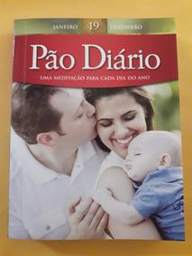 Livro Pão Diário + Marca Páginas Exclusivo