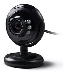 Webcam 16.0mp Multilaser Night Vision Com Microfone Preto