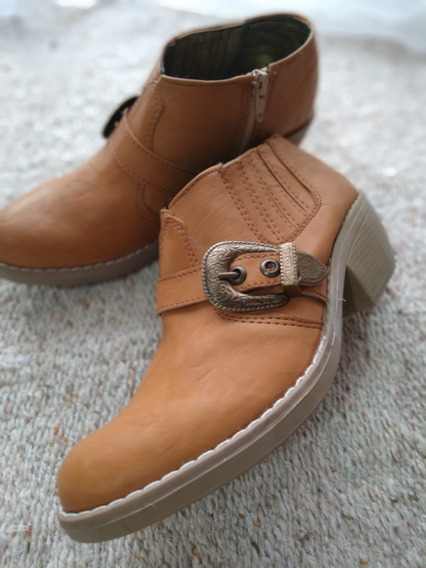Zapato Tipo Texana Oferta