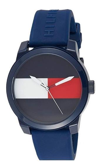 Reloj Tommy Hilfiger M. 1791322 Cuarzo Silicona Hombre / J